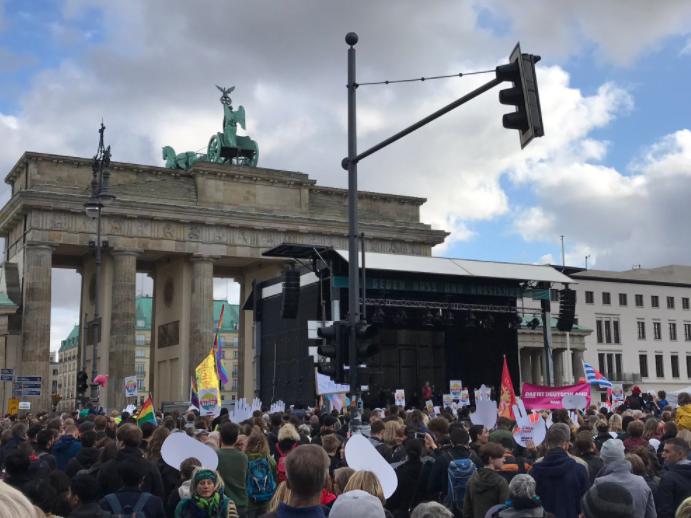 berlin protesti protiv AfD