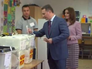 gruevski glasanje lokalni izbori