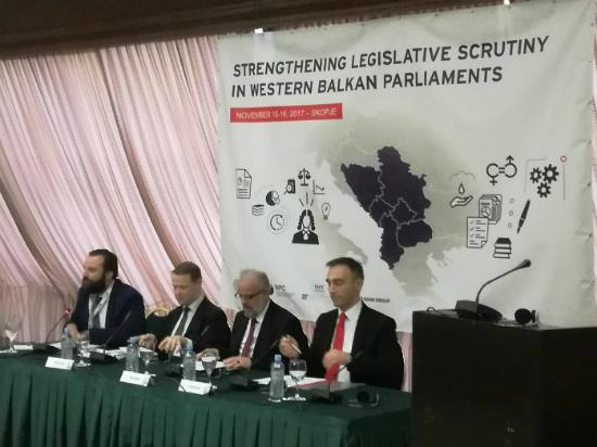 Konferencija za parlamentarna kontrola Holidej In 15noe17 - Meta