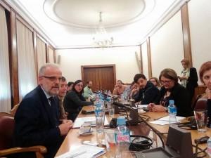 Talat Djaferi brifing so novinari