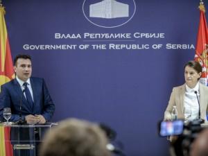Zaev i Brnabic Belgrad 21noe17 - Vlada na RM