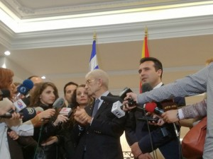 Zoran Zaev i Janis Butaris vo Skopje 16noe17 - Meta