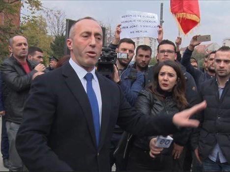 косово протести харадинај