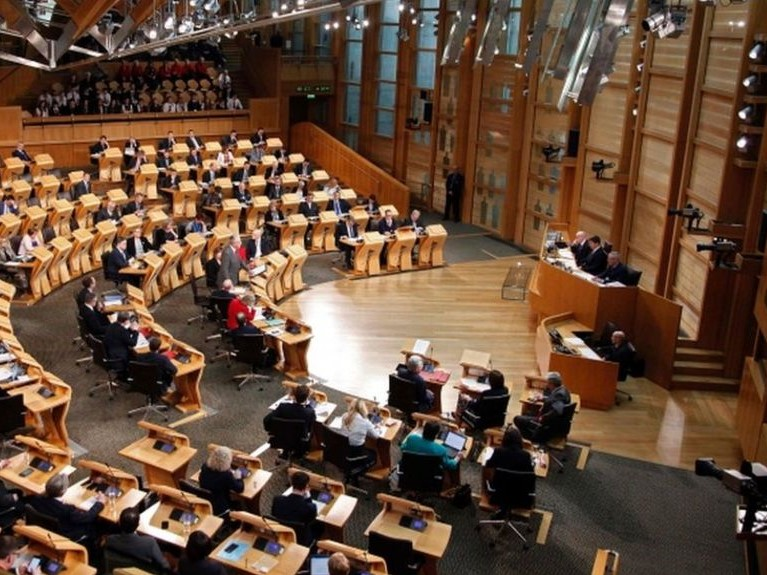 skotski parlament