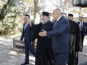 vladikata Naum, Zoran Zaev i Bojko Borisov