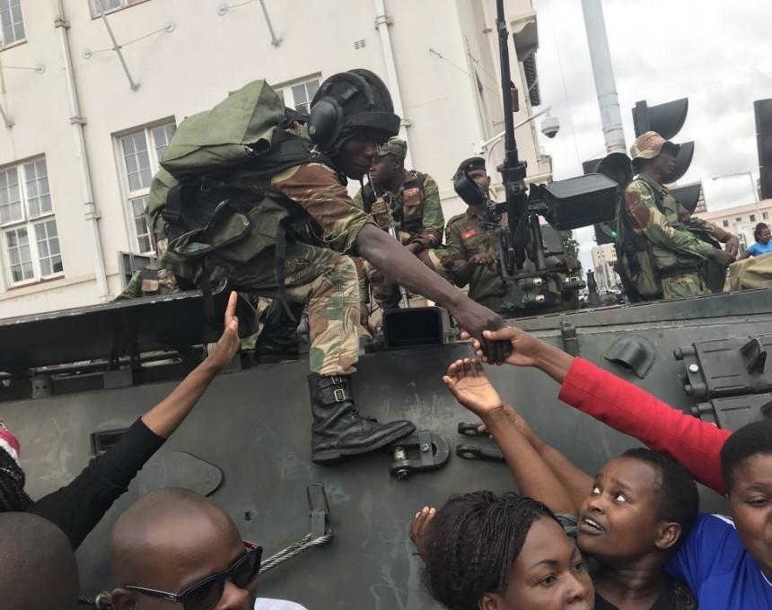 zimbabve protest