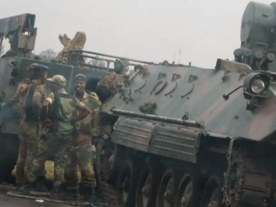 zimbabve vojska