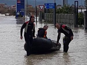 Albanija, poplavi