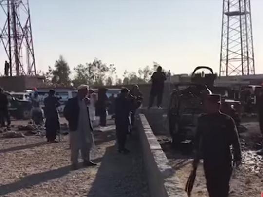Avganistan bombashki napad