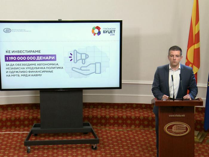 Damjan Manchevski press budzet 2018 MRT i AVMU 6dek17 - MIOA