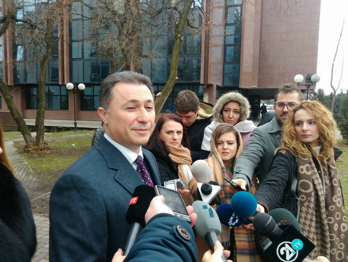 Nikola Gruevski smeshna faca sudenja Traektorija i Shamari - 18dek17 - Meta