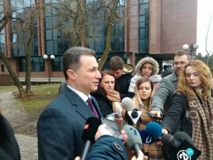Nikola Gruevski sudenja Traektorija i Shamari - 18dek17 - Meta