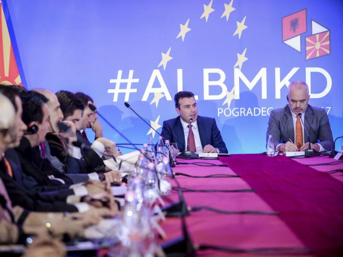 Pogradec zaednichka vladina sednica Makedonija Albanija Zoran Zaev i Edi Rama 15dek17 - Vlada na RM