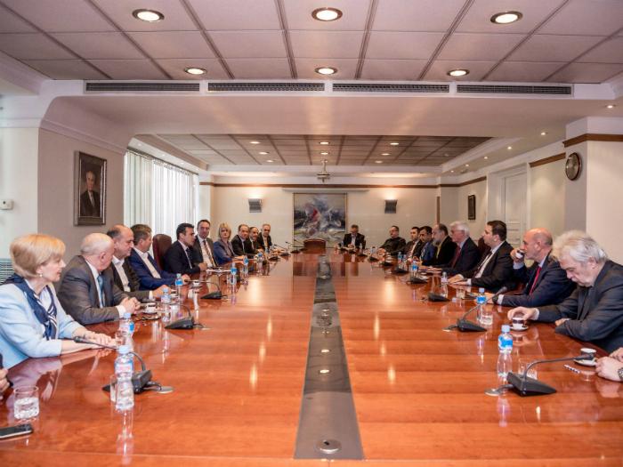 Zaev i vladini koaliciski partneri 29dek17 - Vlada na RM