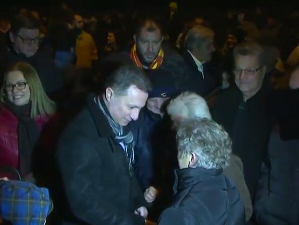 protest VMRO-DPMNE pred Krivicniot sud - Nikola Gruevski