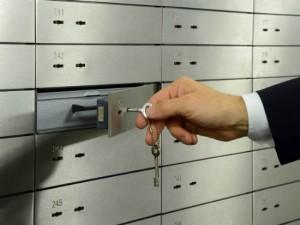 sefovi vo trezor na banka