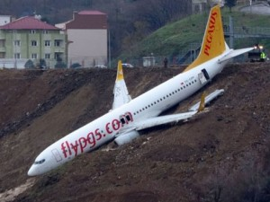 Avion izletan Trabzon Turcija 13jan18 - SkyNews screenshot