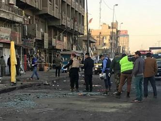 Baghdad Irak bombashki napad ploshtad Tajaran 15jan18