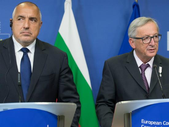 Borisov Juncker