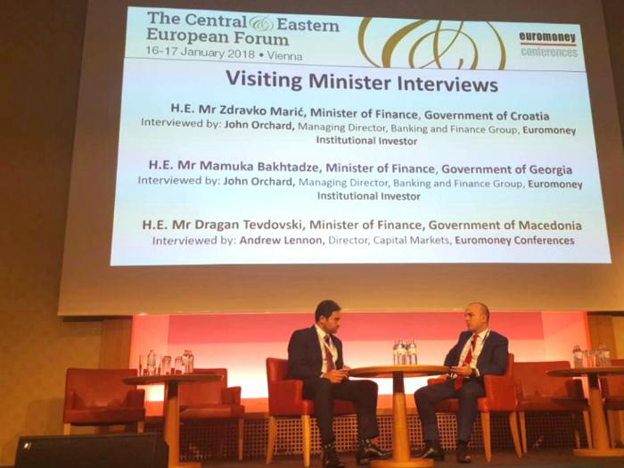 Dragan Tevdovski konferencija Euromoney Viena 16jan18 - MinFin