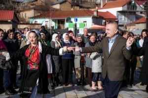 Ilir Meta poseta na Pustec 5jan18 - vesnik Ilinden