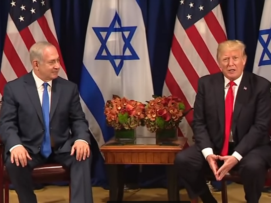 Tramp - Netanjahu