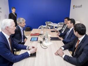 Zaev vo Davos