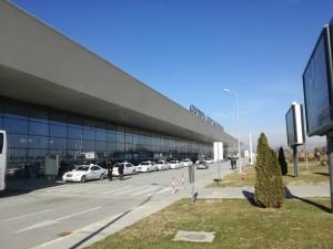 aerodrom skopje. аеродром