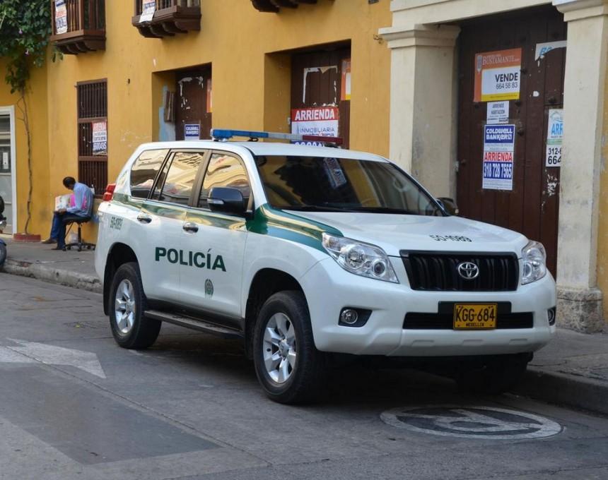 policija Kolumbija