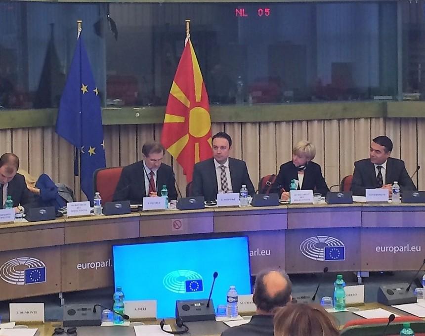 Dimitrov, Strazbur mesovit komitet Makedonija - EU