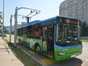 Elektrobus Chariot Motors Belgrad