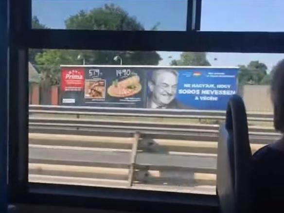 Kampanja protiv Soros vo Ungarija vo 2017 - screenshot