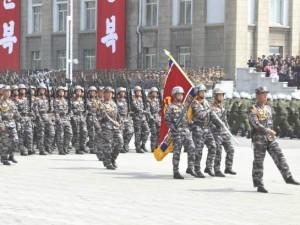Severna Koreja voena parada 8 fevruari