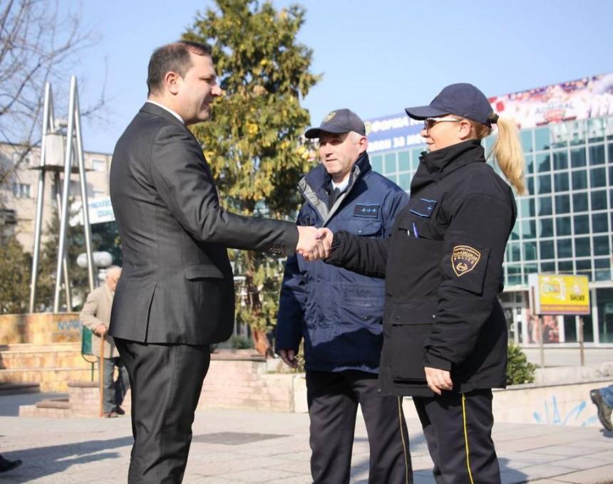 Spasovski poseta SVR Kumanovo pozorna sluzba