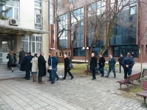 Sudenje Traektorija Krivichen sud Nikola Gruevski Vladimir Peshevski Mile Janakieski i advokati vleguvaat 14fev18 - Meta