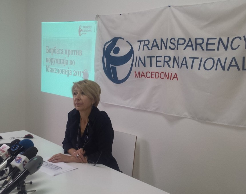 Transparensi international makedonija - Slagana Taseva