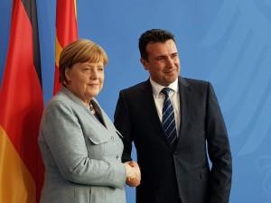 Zaev - Merkel 3
