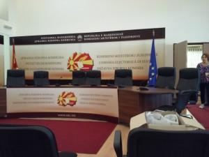 fotelji prazni chlenovi Drzhavna izborna komisija DIK 16okt17