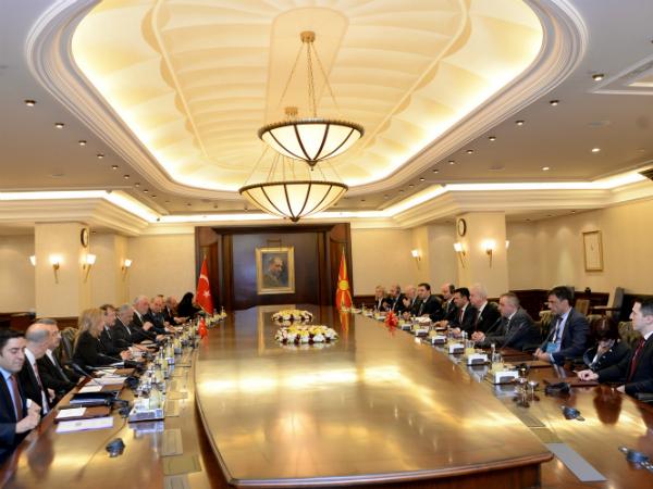 vlada Turcija Makedonija Ankara Binali Jildirim 12fev18 - VladaRM