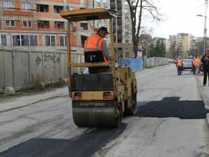 Asfaltiranje valjak ulici udarni dupki 2 15fev18 - OpshtAerodrom