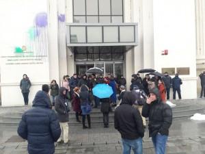 Protest Almir Aliu Javno obvinitelstvo 2mar18 - Meta