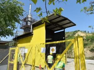 Drisla spaluvach incinerator pechka za medicinski otpad 25apr18 - Grad Skopje
