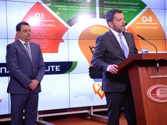 Jovan Despotovski i Kocho Angjushev 28apr18 - Vlada
