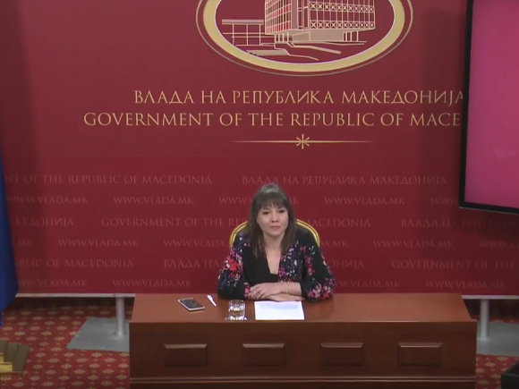 Mila Carovska pres Vlada 13apr18 - Screenshot