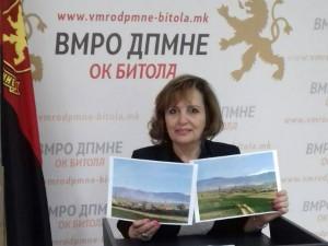Olga Lozanovska pres 3apr18 - VMRO-DPMNE Bitola