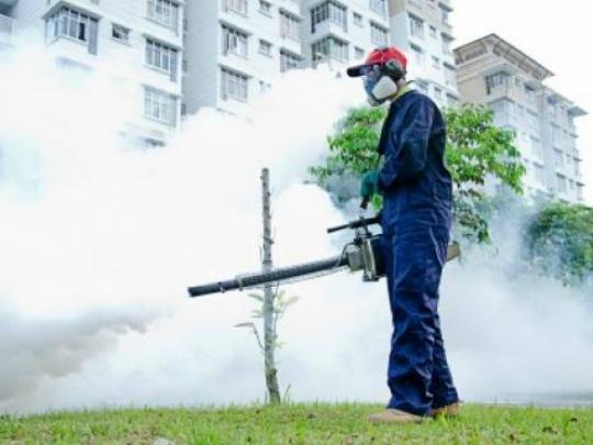 dezinsekcija prskanje protiv komarci