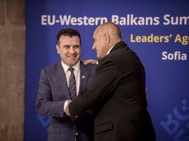 1 Zoran Zaev Bojko Borisov Samit EU Zapaden Balkan Sofija 17maj18 - Vlada