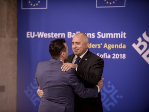 3 Zoran Zaev Bojko Borisov Samit EU Zapaden Balkan Sofija 17maj18 - Vlada