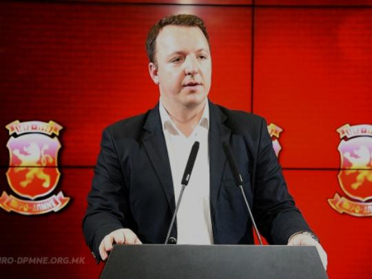 Aleksandar Nikoloski 23maj18 - VMRO-DPMNE