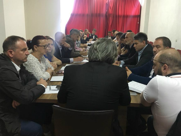 Alijansa za Albancite sostanok Centralno pretsedatelstvo 22maj18 - nivna
